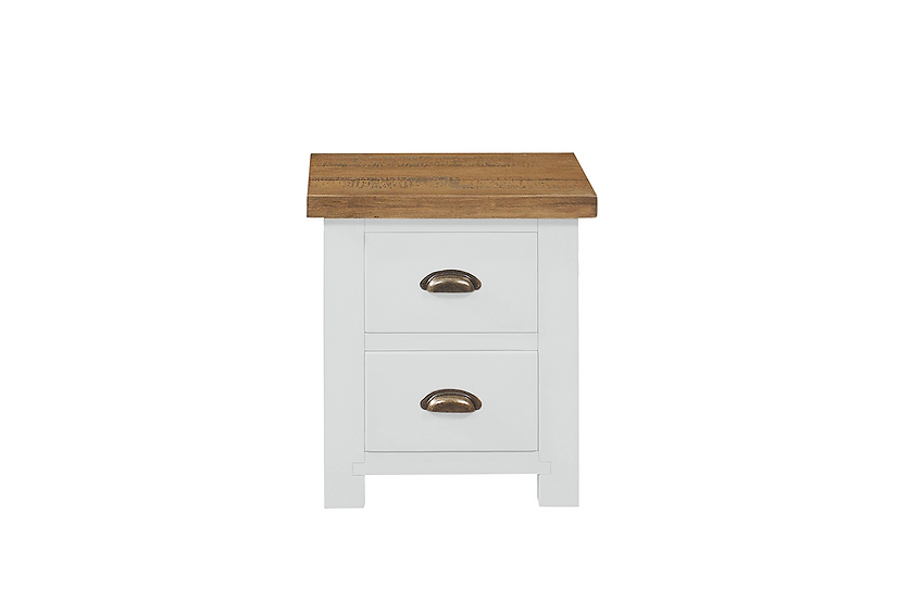 Cotswold White Bedside Cabinet