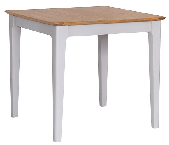 Utah Painted Small Fixed Top Table
