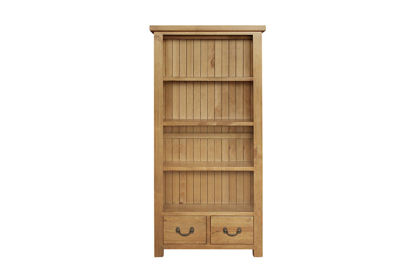 Cotswold Rustic Large Bookcase