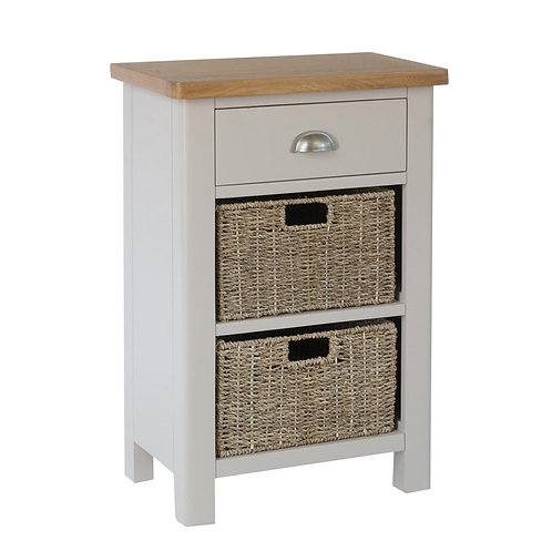 Vermont 1 Drawer 2 Basket Cabinet