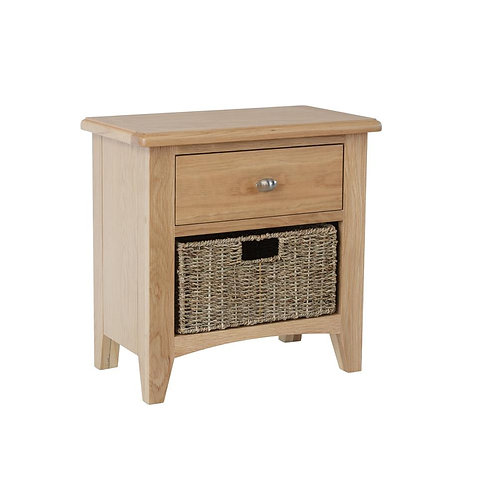 Nevada 1 Drawer 1 Basket Cabinet