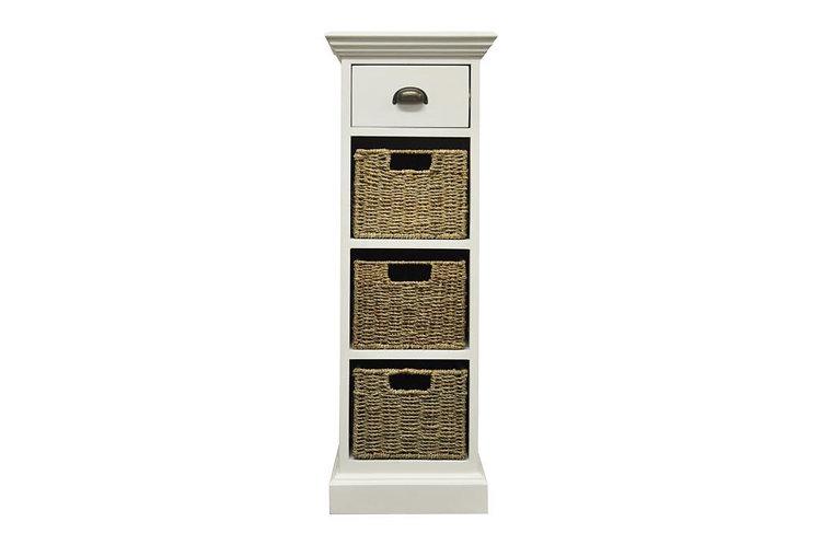 Wyoming 1 drawer 3 basket unit
