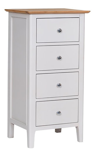 Utah 4 Drawer Narrow Chest