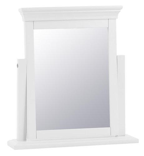 Washington White Trinket Mirror