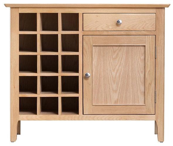 Utah Wine Cabinet