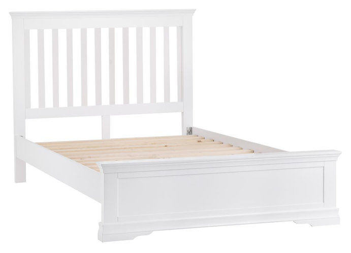 Wshington White 3' Bed