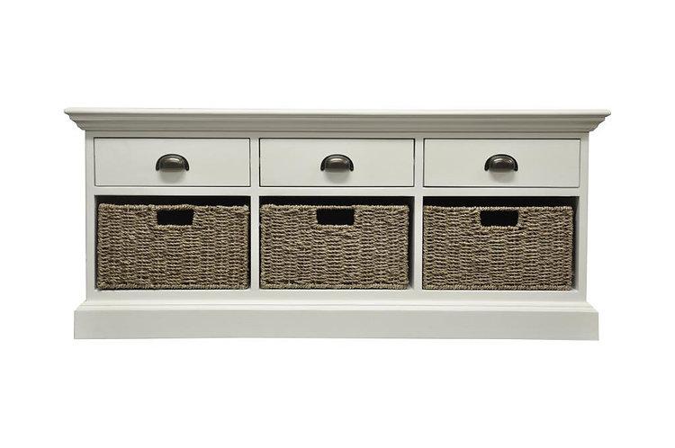 Wyoming 3 drawer 3 basket unit