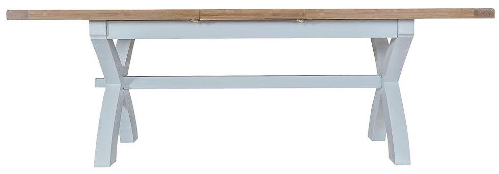 1.8m Cross Extending Table