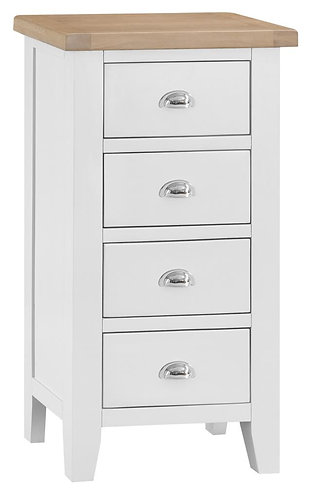 4 Drawer Narrow Chest
