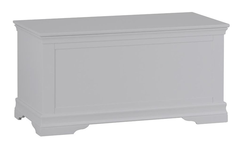 Wshington Grey Blanket Box
