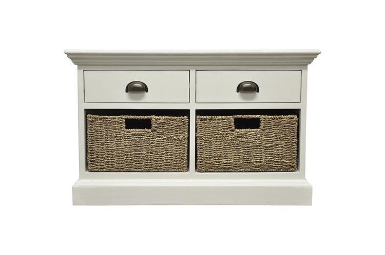 Wyoming 2 drawer 2 basket unit