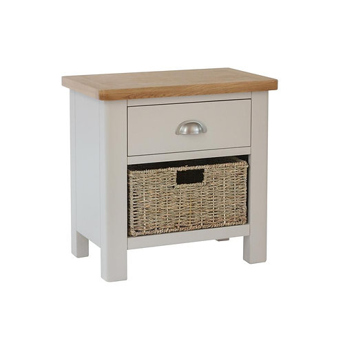 Vermont 1 Drawer 1 Basket Cabinet
