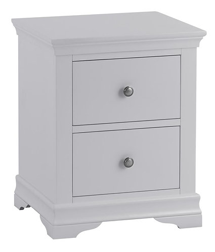 Washington Grey Large Bedside Cabinet