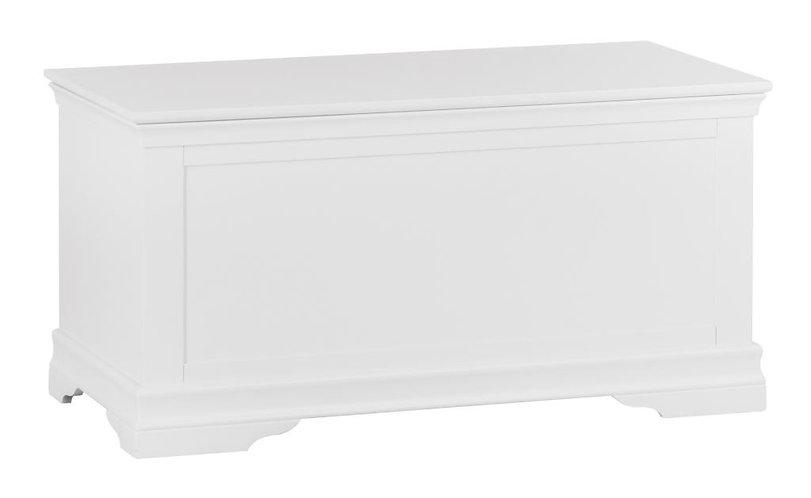 Washington White Blanket Box