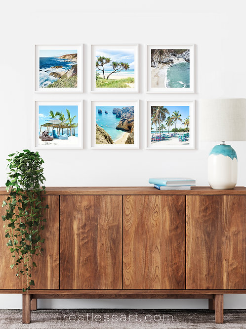 Coastal Views | Square Set