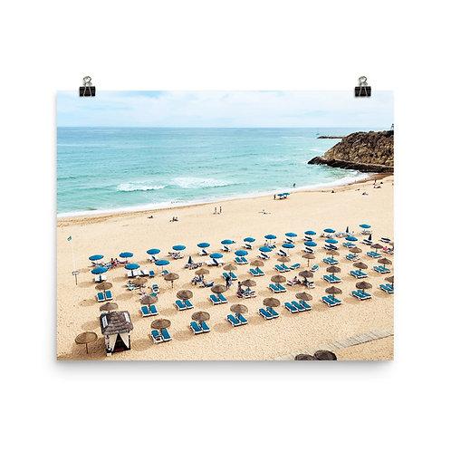 "Albufeira Beach  16x20"" Print"