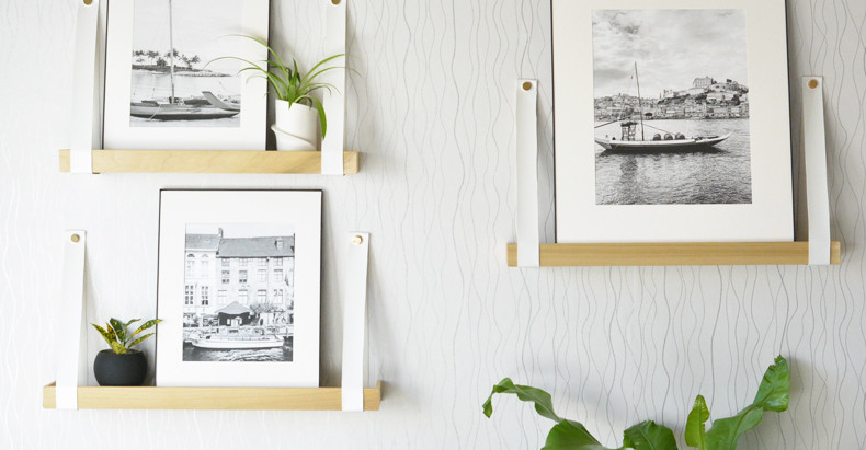Build Your Own Art Ledges