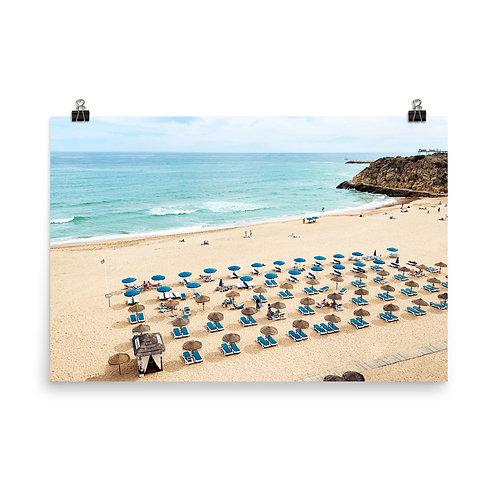 "Albufeira Beach  24x36"" Print"