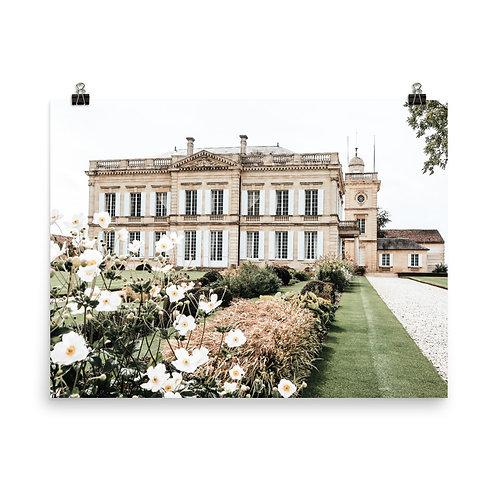 "French Château  18x24"" Print"