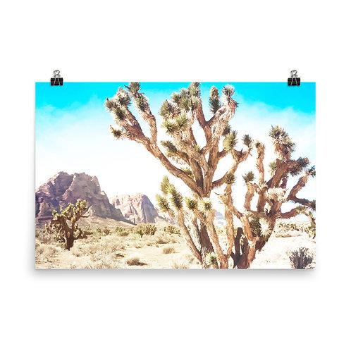 "Joshua Tree  24x36"" Print"