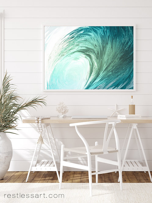 Green Glass Wave