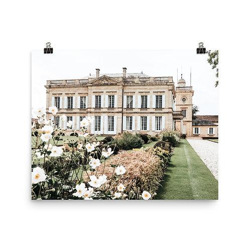 "French Château  16x20"" Print"