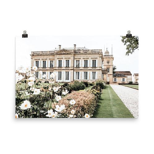"French Château 24x36"" Print"