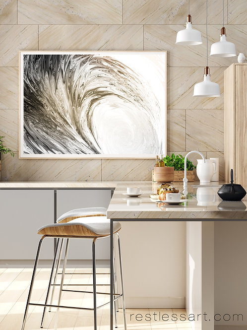 Black Glass Wave