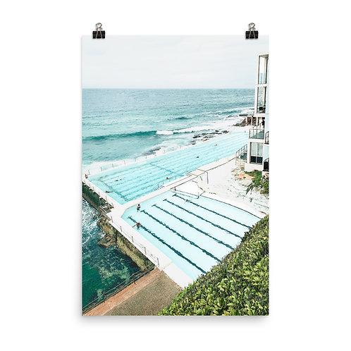 "Bondi Beach | Icebergs Pool 24x36"" Print"