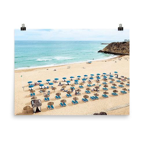 "Albufeira Beach   18x24"" Print"