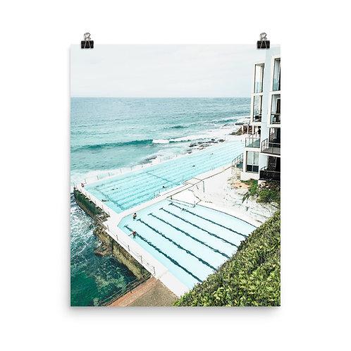"Bondi Beach | Icebergs Pool 16x20"" Print"