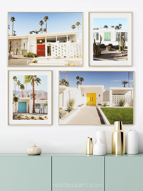 Palm Springs Doors (Set of Four)