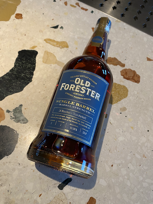 Thunderbolt x LA Bourbon Old Forester Barrel Proof Bourbon - 65.5%