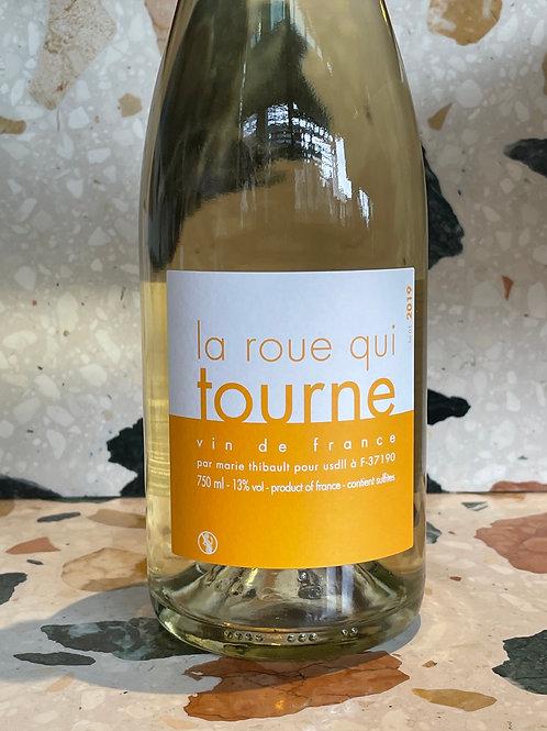 Marie Thibault Roue Qui Tourne Blanc, 2019 - Loire, FR