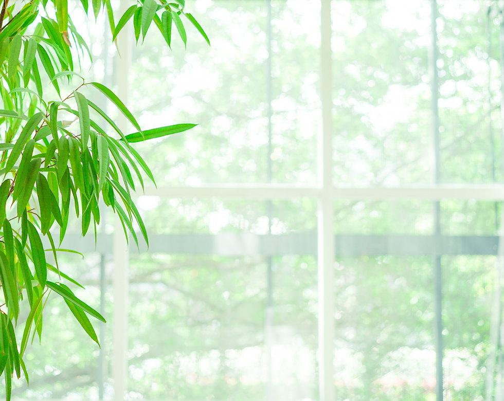 窓際の背景