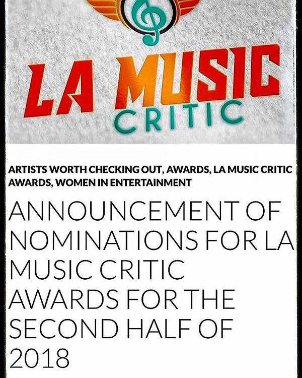 Thank you so much LA Music Critic-awards
