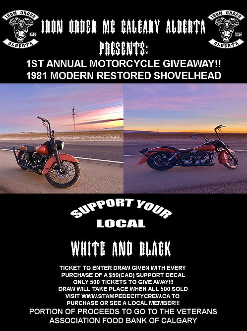 Support Decal for Bike Giveaway!!!!