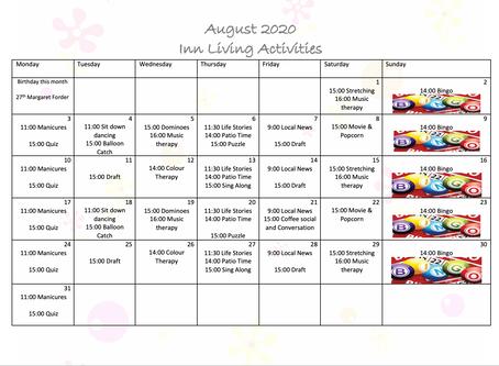 New Activity Calendar!