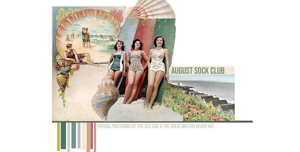August Sock Club - PRE - ORDER