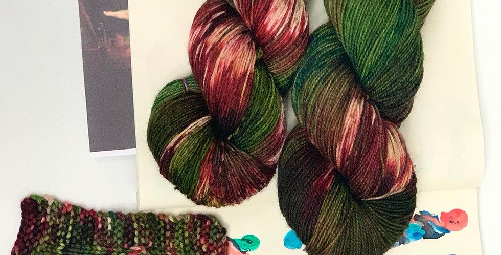 Medusa- Hand dyed yarn