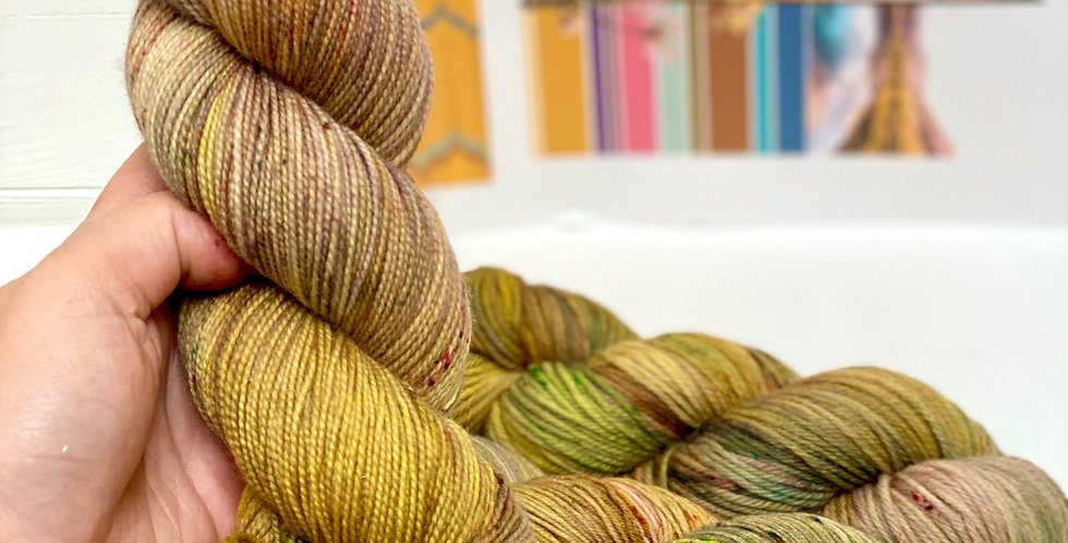 The Trysting Place- Hand dyed yarn