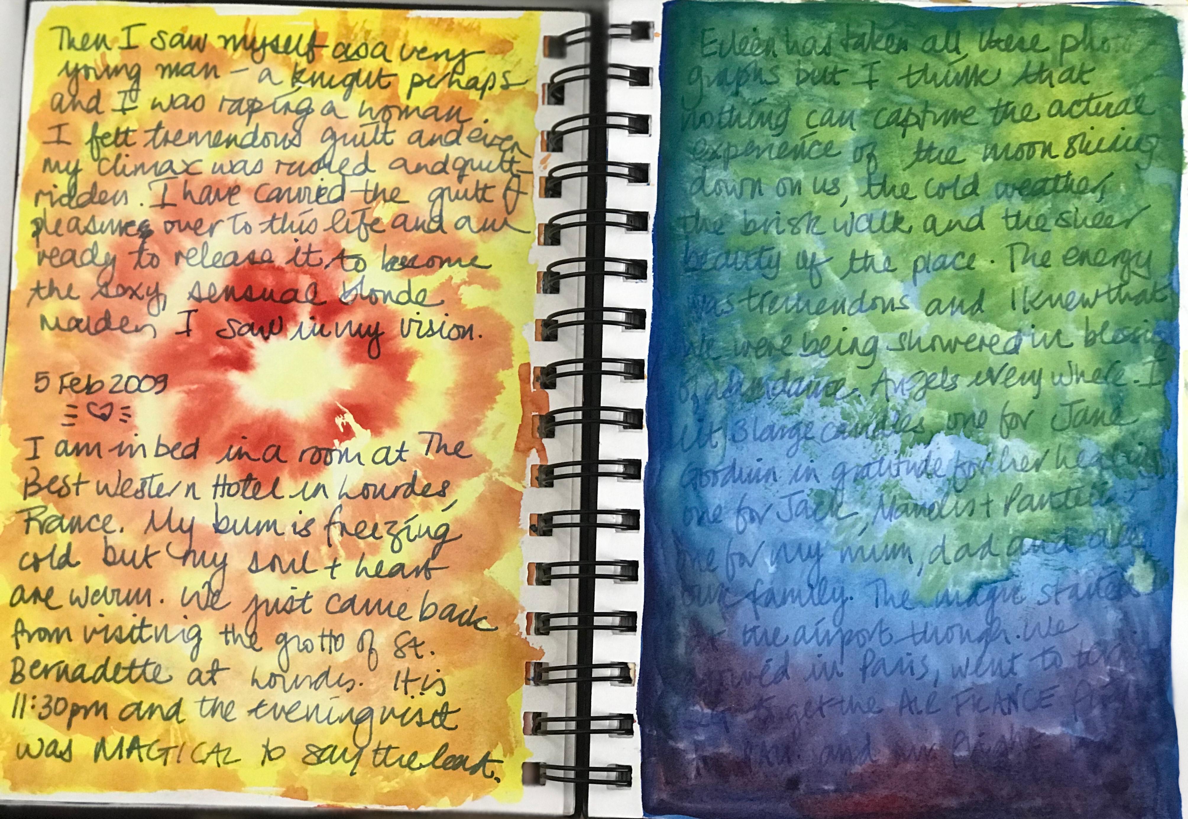 ONLINE INTUITIVE ART& WRITING SAT 17 OCT
