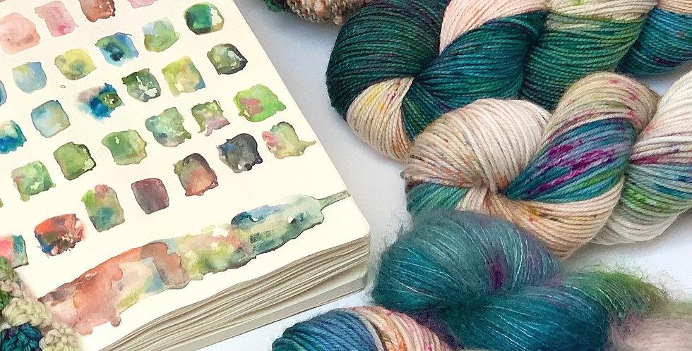 Waterhouse- Hand dyed yarn