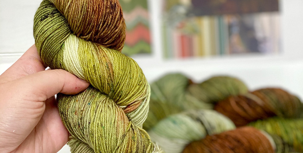 Picture Gallery- Hand dyed yarn