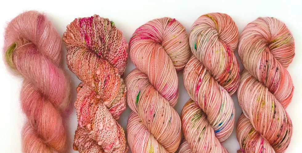 Cuckoo Song- Hand dyed yarn