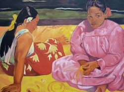 Femmes de Tahiti