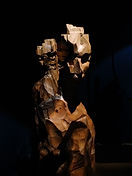 Sculpture contemporaine bois