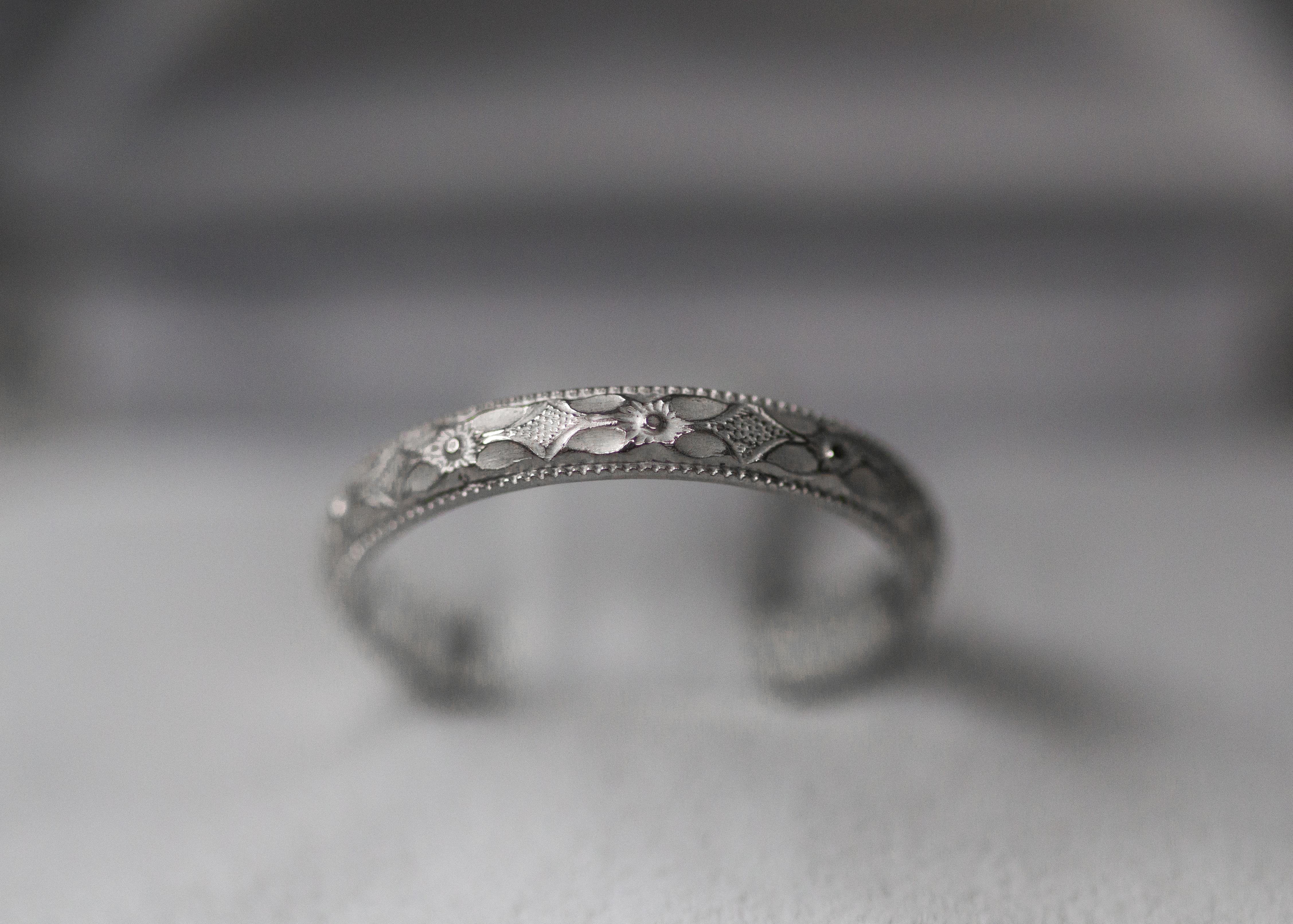 Bohemian Ring - Silber
