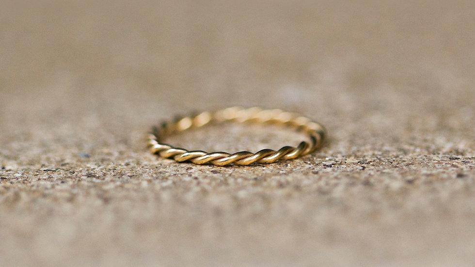 """Felice"" - Kordel-Ring"