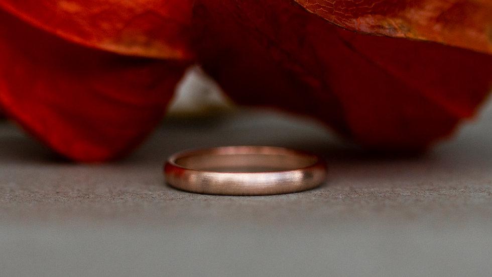 Halbrunder Ring